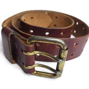 Leather Double Hole Belt